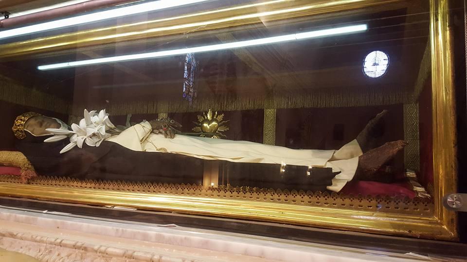 The Incorrupt Body of St. Agnes of Montepulciano - Photo Credit newlitugicalmovement.com