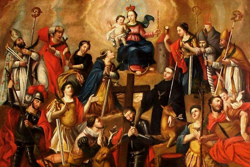 The Fourteen Holy Helpers - Photo Credit taylormarshall.com