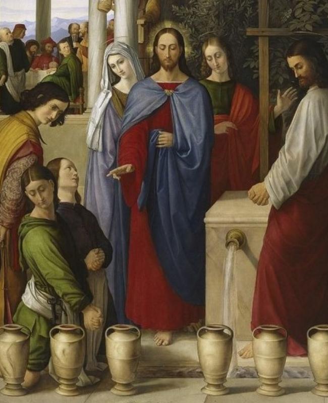 The Wedding Feast at Cana by Julius Schnoor Von Carolsfeld